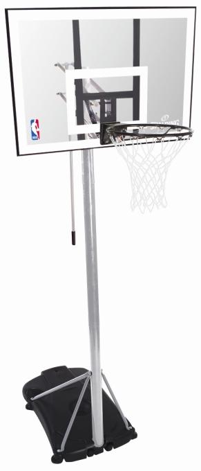 spalding nba silver portable basketballkorb basketball